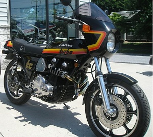 Kawasaki Z Owners Victoria - About the bikes - Z1R